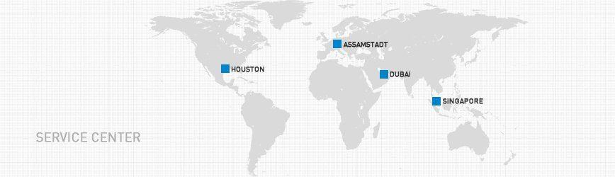 Service center - Germany, USA, Singapore & Dubai | ecom instruments