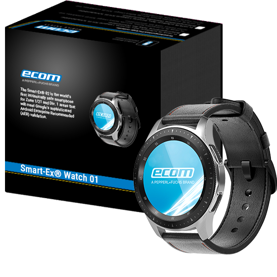 Smart Watch for Zone 2 and DIV 2 Smart-Ex® Watch 01 | ecom instruments