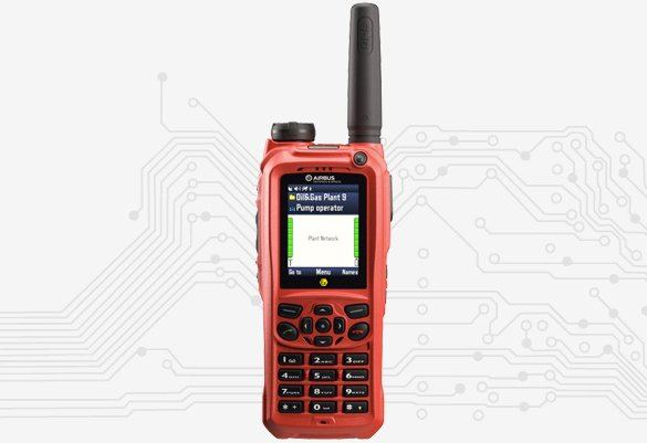 Intrinsically Safe Hand-Held Radio - TETRA THR9 Ex