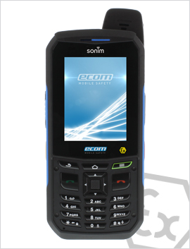 Intrinsically safe feature phone: The new Ex-Handy 09