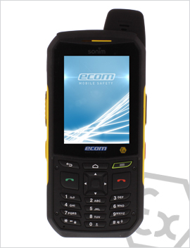 Intrinsically safe feature phone: The new Ex-Handy 209
