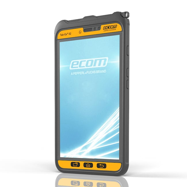 Tab-Ex® 02 DZ2: Rugged Tablet for Zone 2/22 & DIV 2   ecom instruments